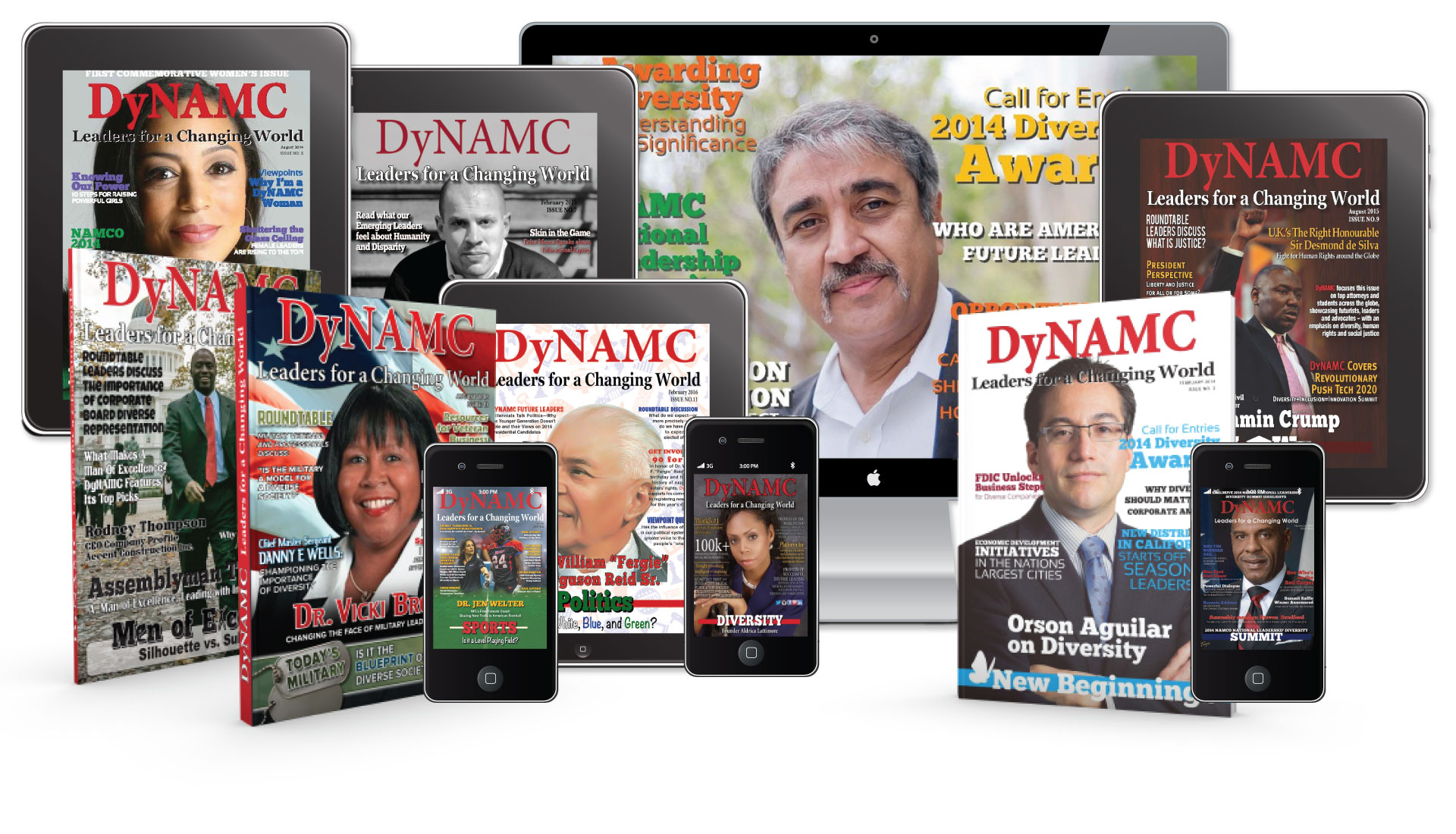 DyNAMC Leaders  <br/>for a Changing World Magazine
